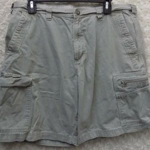 Columbia Men Size 36 Cargo Hiking Outdoor Shorts